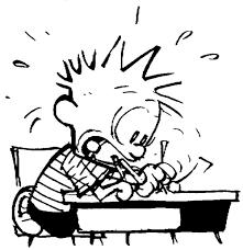 Calving writing